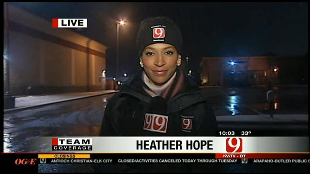 Reporter Heather Hope Updates On Storm Impact In Yukon