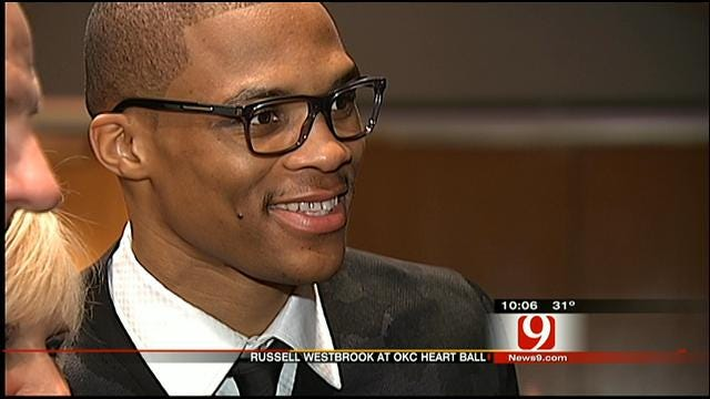 Russell Westbrook To Honor Childhood Friend During OKC Heart Ball