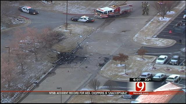 OKC Medical Helicopter Crash The Second In Two Months