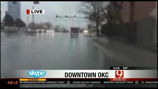 OKC Crews Prepping Streets Ahead Of More Winter Weather