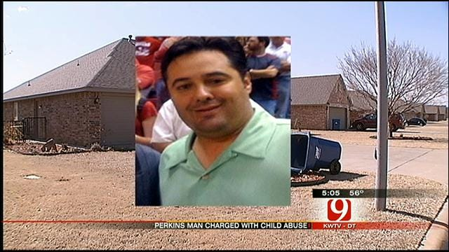 Perkins Man Accused Of Abusing Son For Liking OU Better Than OSU