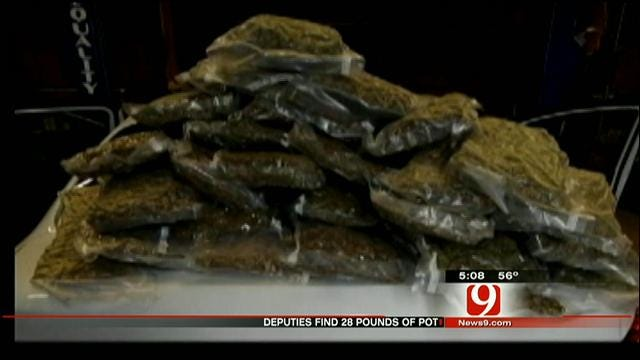 Routine Traffic Stop Leads To Large Drug Bust In Canadian County