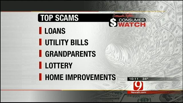 Consumer Watch: Top Scams Warning