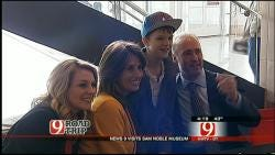 Road Trip Oklahoma: News 9 At Four Anchors Meet And Greet