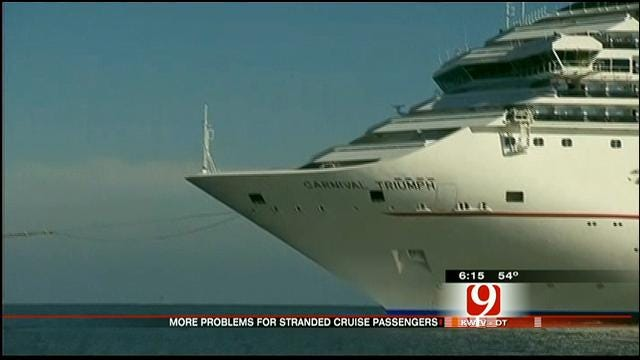 Situation Worsens For Oklahomans Stuck On Stranded Carnival Ship
