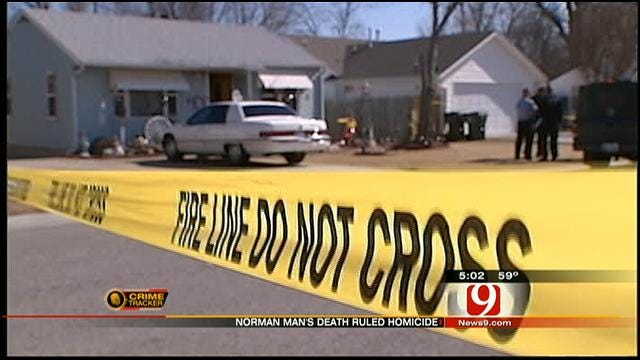 'Suspicious Death' In Norman Ruled Homicide