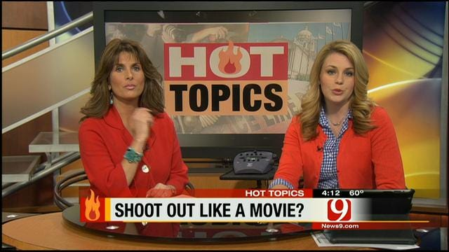 Hot Topics: Shootout Like A Movie?