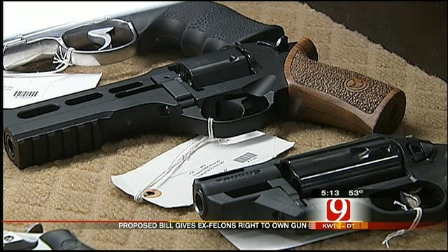 Oklahoma House Bill Allowing Some Ex-Felons To Own Guns Now On Hold