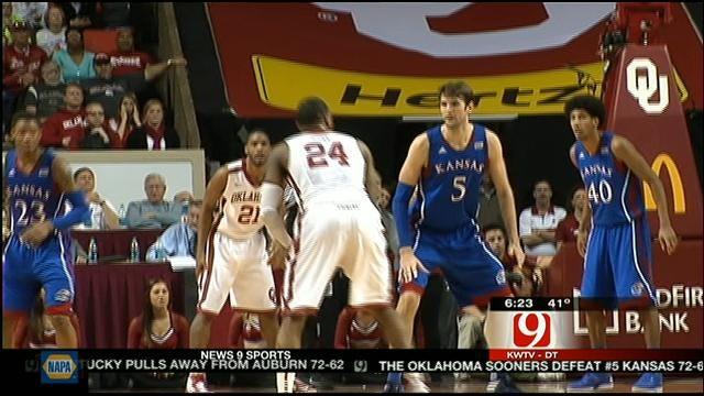 Oklahoma Upsets No. 5 Kansas