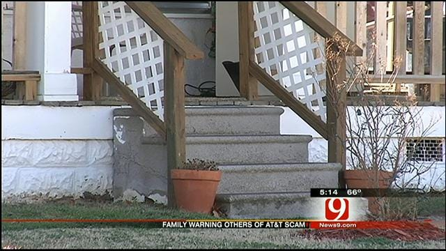 Thieves Pose As AT&T Workers, Ransack OKC Family's Home