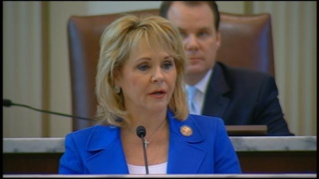 WEB EXTRA: Governor Mary Fallin's State Of State Address Part II
