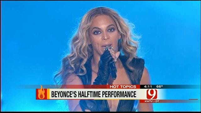 Hot Topics: Beyonce's Super Bowl Halftime Show