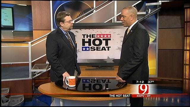 The Hot Seat: DPS Commissioner Michael Thompson