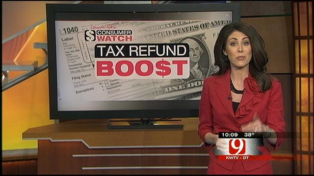 Consumer Watch: Boosting Our Tax Refund