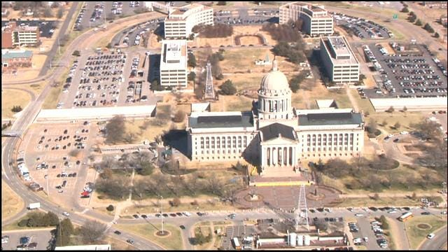 WEB EXTRA: Governor, School Children Evacuated From State Capitol