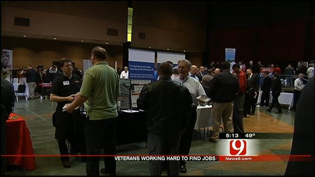 Unemployment Rate for Vets Higher Than That Of Civilians
