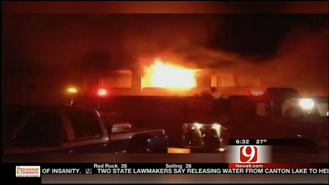Fire, Explosions Rock NE OKC Motel