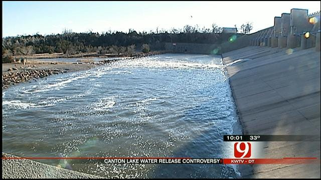 Canton Community Upset With Decision To Release Water To OKC