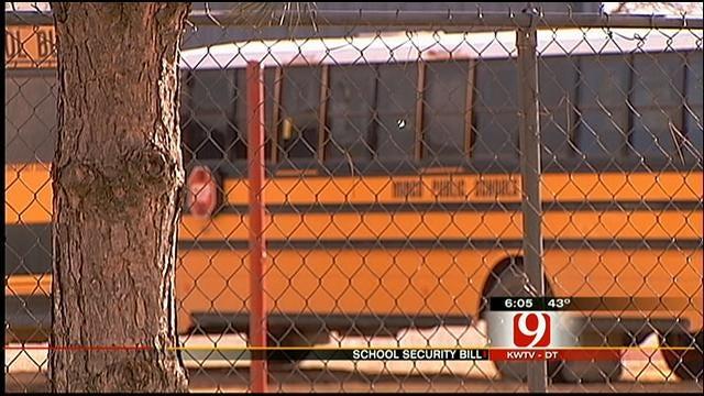 Oklahoma Lawmaker Proposing Bill To Beef Up School Security