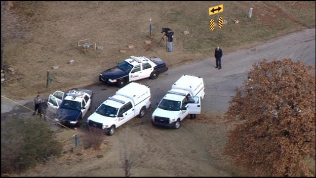 SkyNews 9 Flies Over Scene Of Suspicious Death In NE OKC