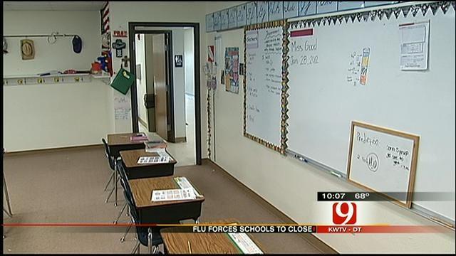 Flu Forces Southwest OKC School Closed
