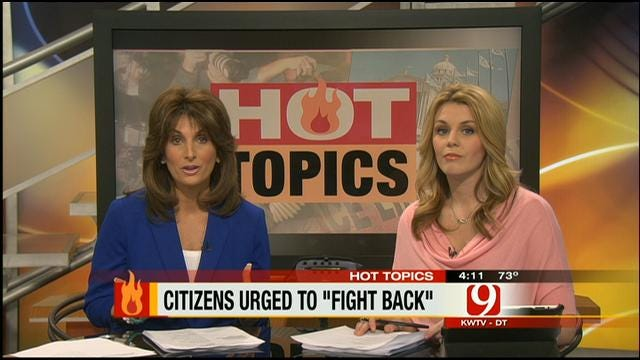 Hot Topics: Citizens Urged To 'Fight Back'