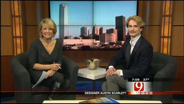 Designer Austin Scarlet Talks To News 9 This Morning