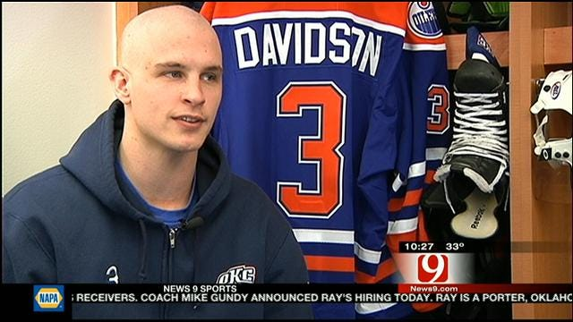 Baron's Brandon Davidson On The Road To Recovery