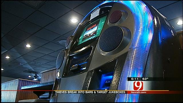 OKC Bars Burglarized By Jukebox Bandit