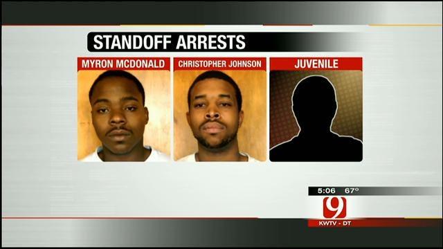 OKC Men, Edmond Teen Accused Of Trying To Shoot Texas Trooper
