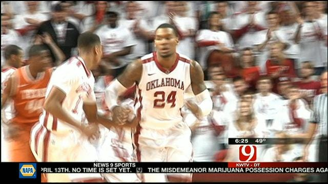 OU's Osby Relieved To Finally Beat Texas