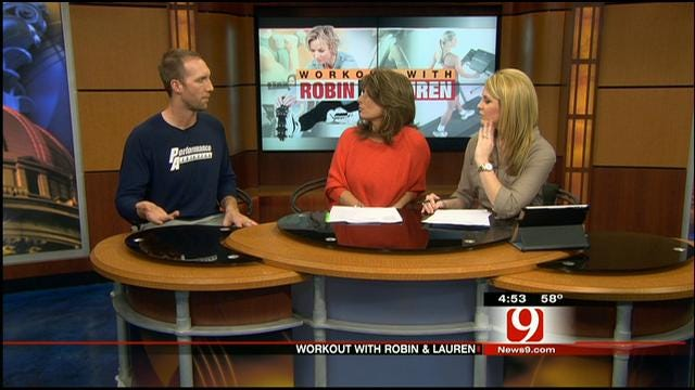 Working Out With Robin And Lauren: Keeping New Year's Resolutions