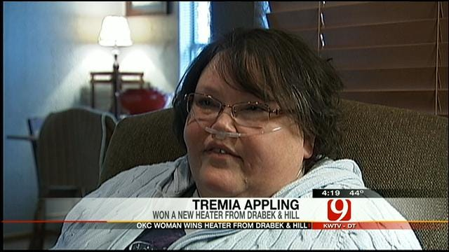 Heating Hearts: Tremia Appling Receives New Heater