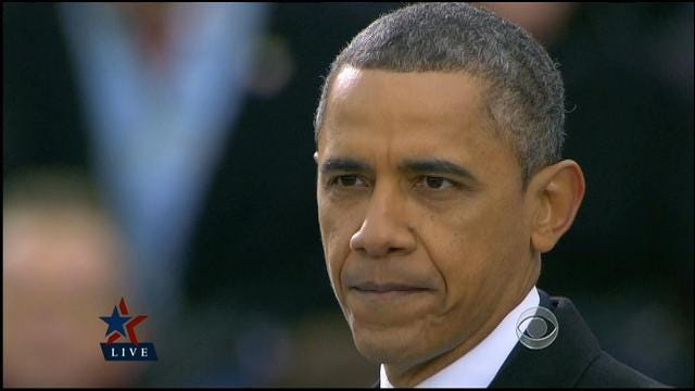 President Obama Delivers His Inauguration Speech