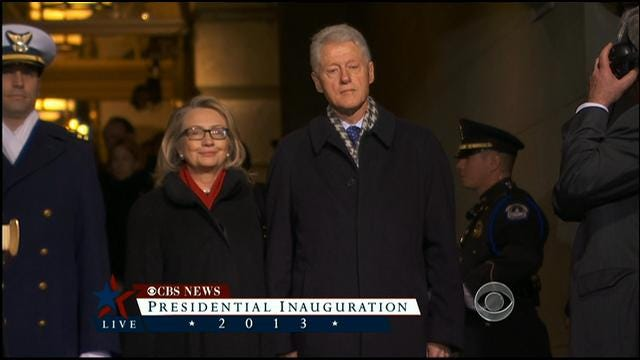 Former Presidents Arrive At Presidential Inauguration