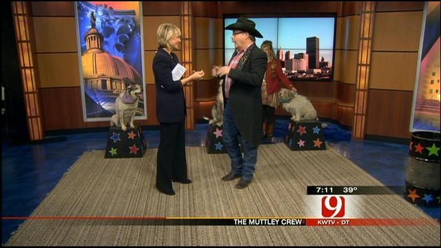 The Muttly Crew Stops By News 9 This Morning