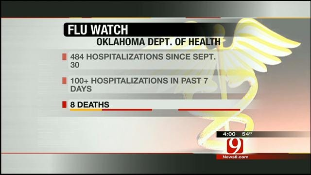 Flu Cases On The Rise In Oklahoma