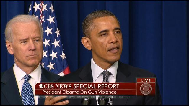 Obama Taking 23 Actions Aimed At Gun Violence