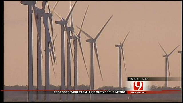 Neighbors Upset Over Proposed Wind Farm Outside Metro