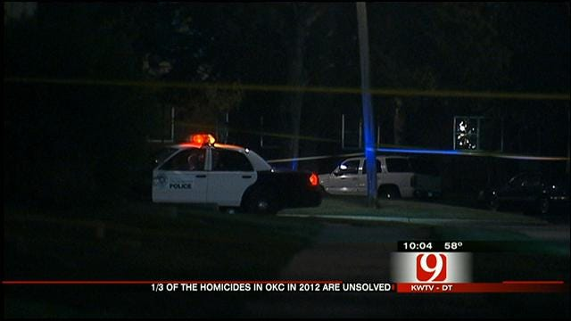 Nearly One-Third Of OKC's 2012 Murders Remain Unsolved