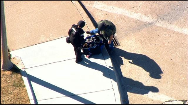 WEB EXTRA: Suspicious Package Found Near Downtown OKC Deemed Safe