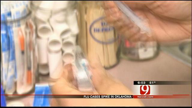 8 Die In Oklahoma From Flu