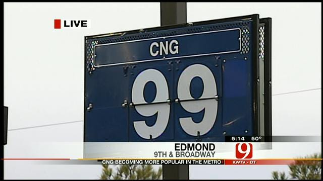 Some Oklahoma Drivers Save Thousands Of Dollars As CNG Prices Drop