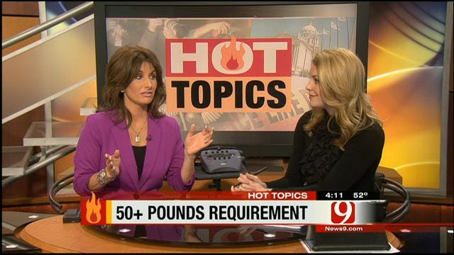 Hot Topics: Overweight Requirement For Gym Membership