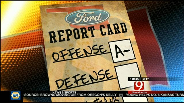 Oklahoma State Bowl Wrap Up And Report Card