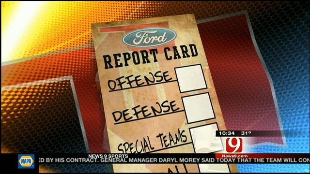 OU Bowl Game Report Card