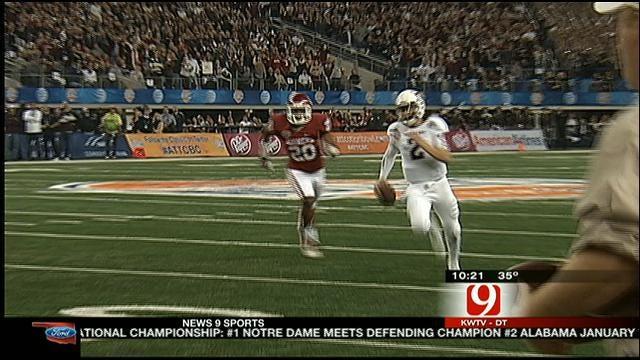 Dean Blevins Wraps Up The Cotton Bowl