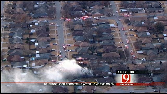 Owner Of Home That Exploded In SW OKC Talks About Incident