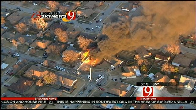 Neighbor Talks About SW OKC Explosion