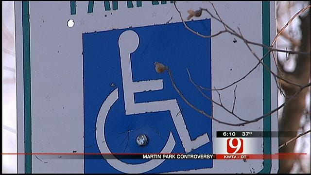 Support, Opposition Voiced In Plans To Make OKC Park Handicapped Accessible